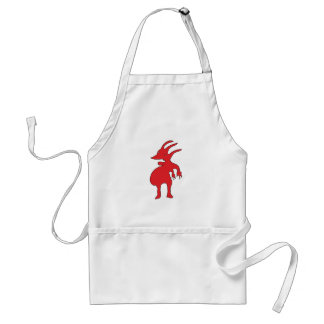 Grotesque Creature Isolated Standard Apron