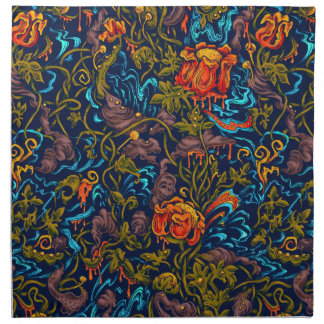 Grotesque Garden Cloth Napkins