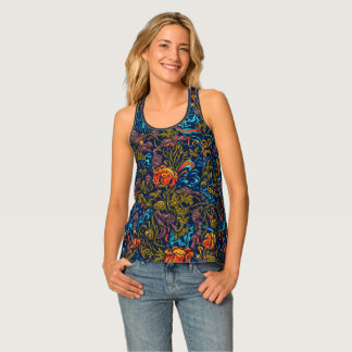 Grotesque Garden Tank Top