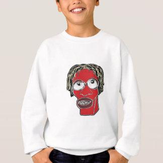 Grotesque Man Caricature Illustration Sweatshirt