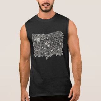 Grotesque Number 1, by Brian Benson Sleeveless Shirt