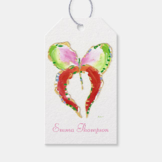 Groth Butterfly gift tag