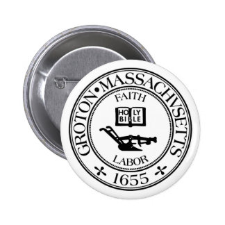 Groton, Mass Save our Seal 2 Inch Round Button