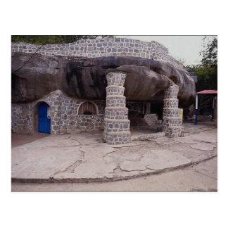 Grotto Shrine of Mariel, visitation of Virgin Mary Postcard