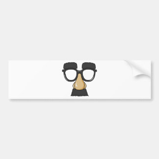 Groucho Glasses (a.k.a. the Beaglepuss) Bumper Stickers