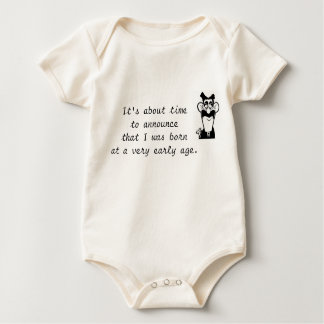 Groucho Marx Baby Quote Infant Creeper