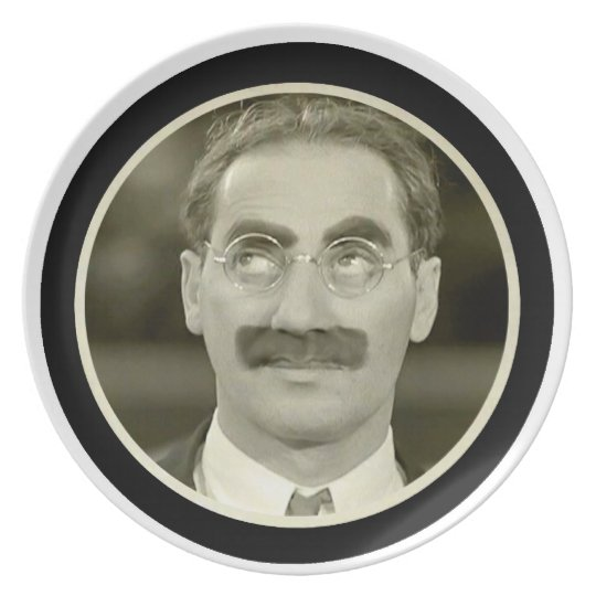 Groucho Marx Plate