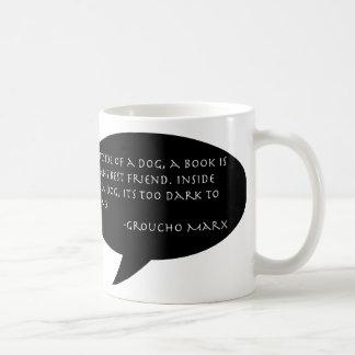 Groucho Marx Quote Mug