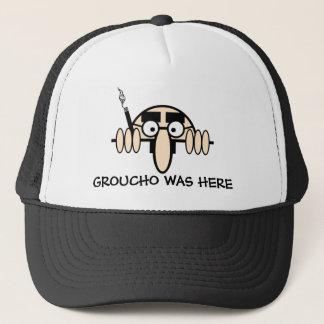 Groucho was here trucker hat