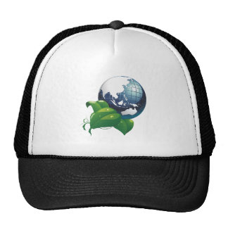 Ground Asia earth asia Trucker Hats