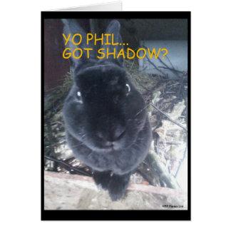 Ground Hog Day/Easter  Card