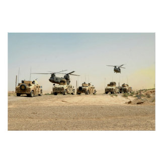 Ground operation Iraq poster