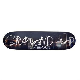 GROUND UP SKATEBOARDS JAX SKYLINE DECK