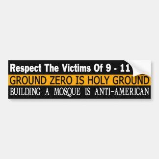 Ground Zero Is Holy Ground Bumper Sticker