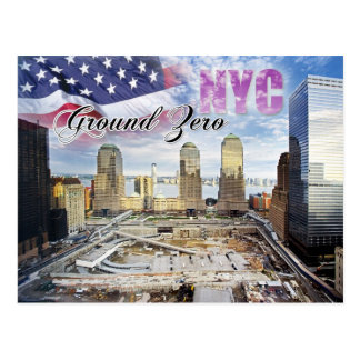 Ground Zero, Manhattan, New York City Postcard