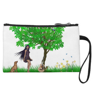 Grounded Wristlet