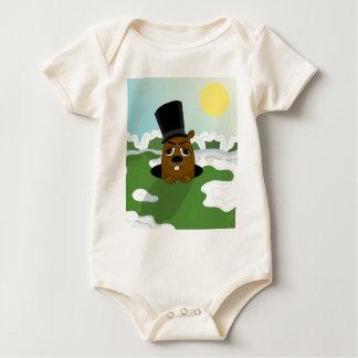Groundhog Baby Bodysuit
