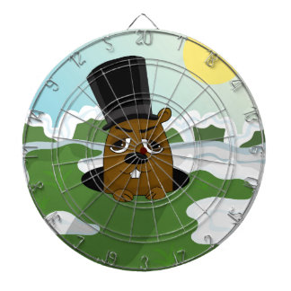 Groundhog Dart Board