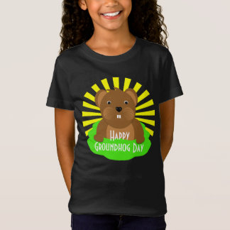 Groundhog Day 2018 Celebration Cute Graphic T-Shirt