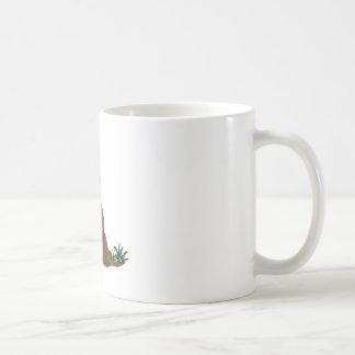 Groundhog day - cartoon style coffee mug
