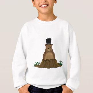 Groundhog day - cartoon style sweatshirt