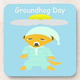 Groundhog Day Coasters