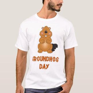 GROUNDHOG DAY MEN T-SHIRT
