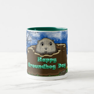 groundhog day mug