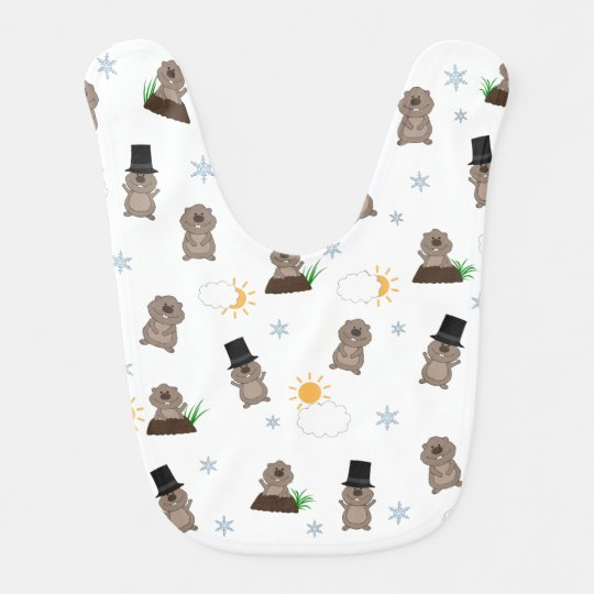 Groundhog Day Pattern Bib