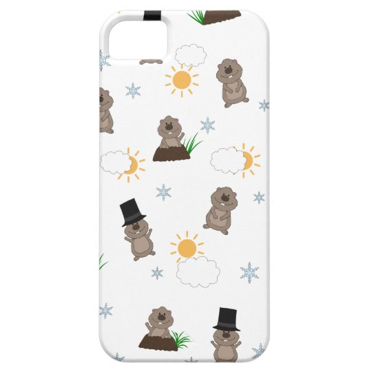 Groundhog Day Pattern iPhone 5 Cases
