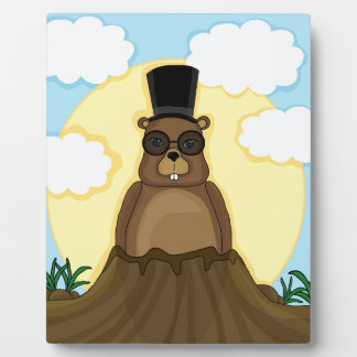 Groundhog day plaque