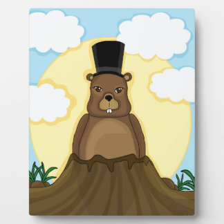Groundhog day plaques