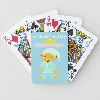 Groundhog Day Poker Deck