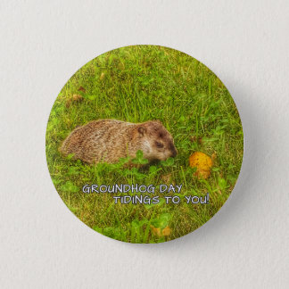 Groundhog Day tidings to you! button