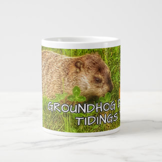 Groundhog Day tidings to you! mug