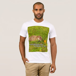 Groundhog Day tidings to you!  t-shirt
