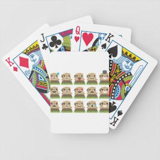 groundhog emojis bicycle playing cards