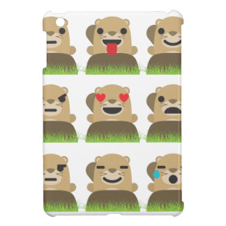 groundhog emojis case for the iPad mini