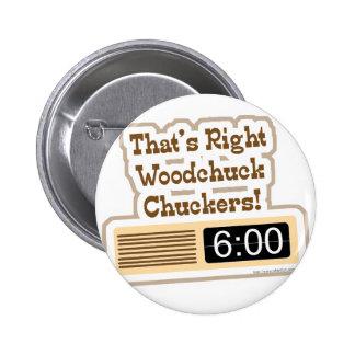 Groundhog Movie 2 Inch Round Button
