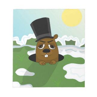 Groundhog Notepad