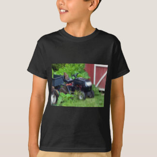 Groundhog on a  Lawn Mower T-Shirt