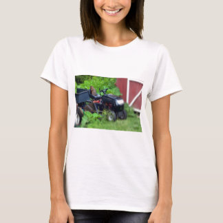 Groundhog on Lawn Mower T-Shirt