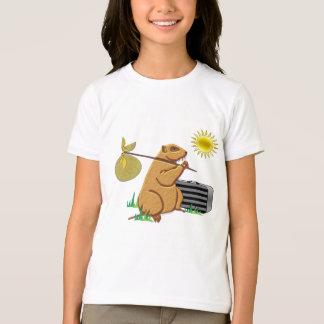 Groundhog Runs Away T-Shirt