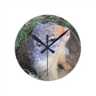 Groundhog Wall Clock