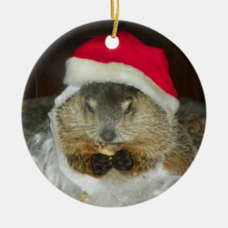 Groundhog/Woodchuck Clara Ornament