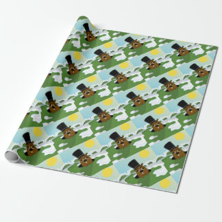 Groundhog Wrapping Paper