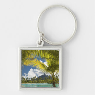 Grounds and scenics of the new luxury St. Regis Silver-Colored Square Keychain