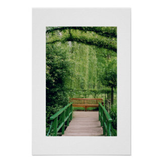 Grounds of Monet's house Print