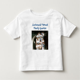 group -cruise, Zuchowski Annual Family Reunion Toddler T-shirt