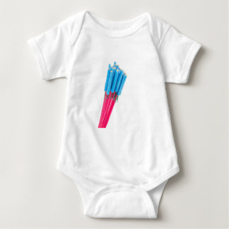 Group fire arrows for New years eve Baby Bodysuit